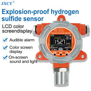 RS485 Fixed 24h Online High Explosion Proof Garde Hydrogen Sulfide Gas Detector H2S Sensor