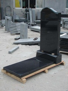Russian style, Euro style, Israel Style Black Granite Tombstone And G664 Tombstone Prices