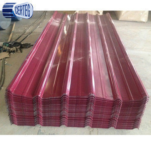 Shandong metal building materials price for prepainted galvanized corrugated steel roofing sheets