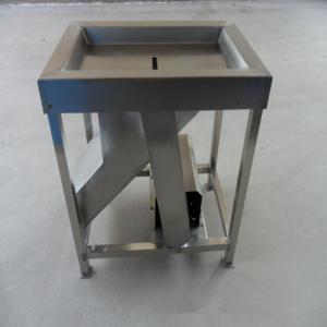 Stainless steel slaughtering equipment chicken gizzard peeling machine