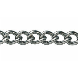 SUS 304 Twist Link Welded Sash Metal Chain