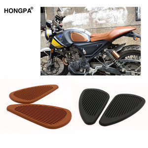 Tank Pads Knee Pad Protector for Cafe Racer Motorcycle Fuel Tank Protection