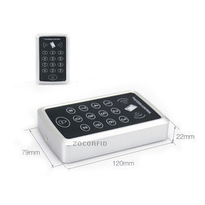Touch Screen Single Door Access Control Systems Keypad 125KHZ RFID access controller