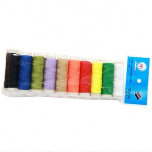 Tube Wholesale 50 Yards 10 Colors Polyester Sewing Thread