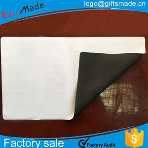 White neoprene mouse mat sublimation blank mouse pad