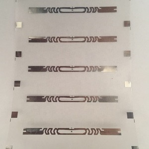 YK EPC C1 GEN2 / ISO 18000-6C UHF dry RFID inlay for Medical blood test tube label