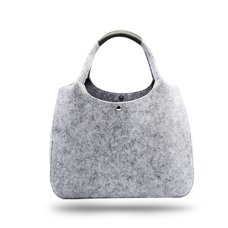 China manufacturer fashion felt handbag shopping bag