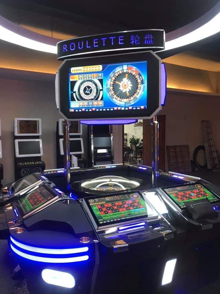 2019 Newest Casino Game Machine Automated Electric Jackpot Smart Electronic Roulette Machine For Sale