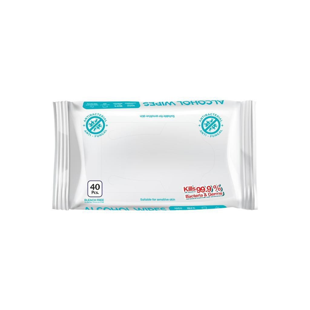 Alcohol Wipes in Packs %70 Alcohol - FDA