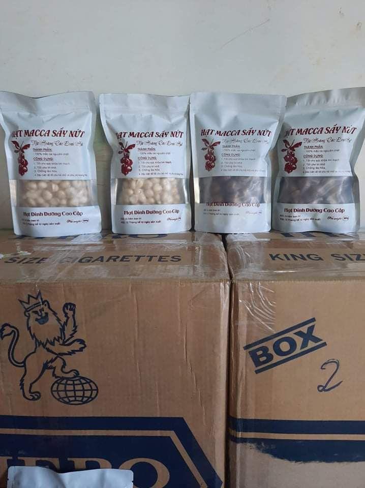 Import Macadamia Nuts from Vietnam