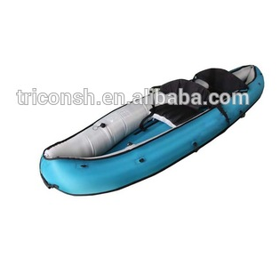 Heavy duty PVC for chamber inflatable canoe kayak 2 person