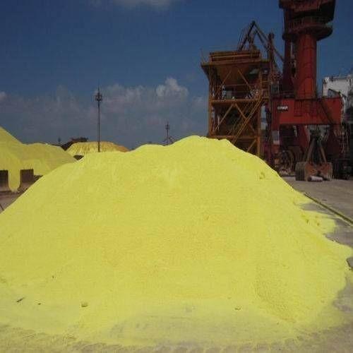 Granulated sulfur