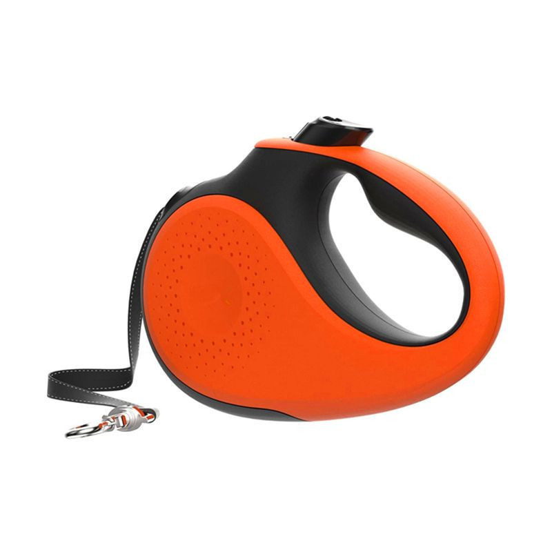 2020 NEW COMING two color tractable dog leash innovative short braking system for 110lbs/55lbs dog