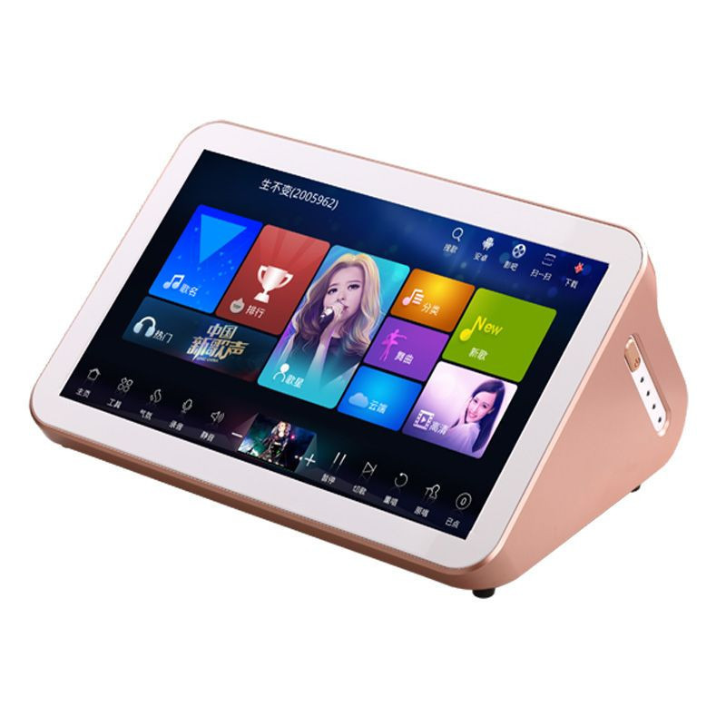China Factory Portable With Hard Disk Karaoke Machine Player Android System 15.6'' Touch Screen Karaoke Player Portable