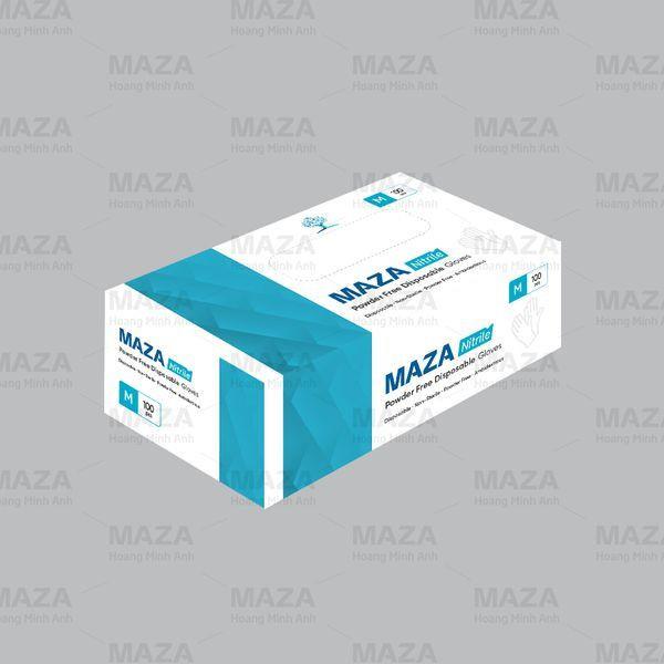 Maza nitrile powder free, China/Thai Lan/Vietnam origin