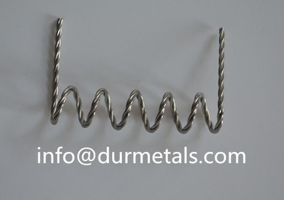 High purity stranded tungsten wire