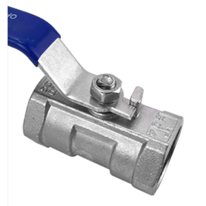 Stainless Steel Ball Valve, One-Piece Ball Valve, Threaded Internal Thread Valve, Switch Water Pipe