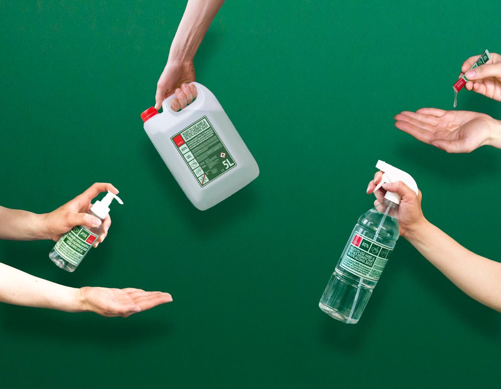 Import 80% Alcohol Based Sanitizer from Latvia