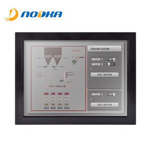 """15""""open frame IR touch screen monitor, cheap display for KIOSK  and Locker"""