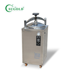 50L lab hospital vertical autoclave High pressure steam sterilizer