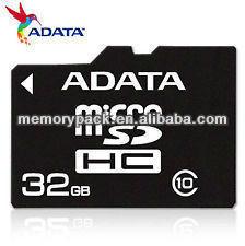 Adata micro sd 32g class 10 memory card