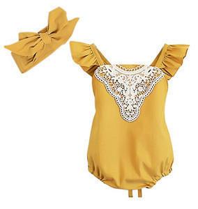 Angle Wings Baby Romper Raglans Fall Shirt Long Sleeve Romper Tops Baby Gift DIY Baby Girl Jumpsuit