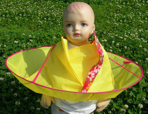 Child Hair Cutting Cloak Umbrella Cape Salon Waterproof Child Home Barber Hairdressing for Kids Hairstylist Design Gown Barbers