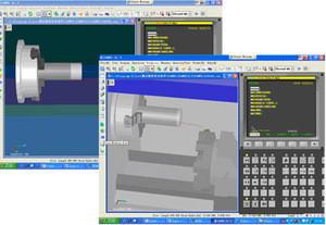 CNC machine simulation software