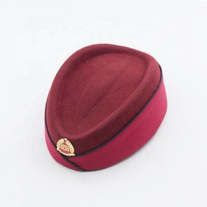 Custom Fashion Airline Hostess Hats and Caps