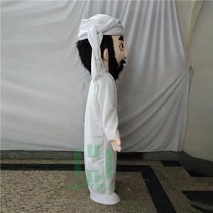 Custom People character Mascot Arabian adult arabic mascot costume
