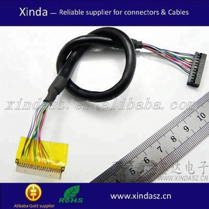 Custom wire harness assembly for chia-x audio navigation GPS system