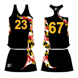 Customized Sublimated Hockey Girls Lacrosse Uniforms