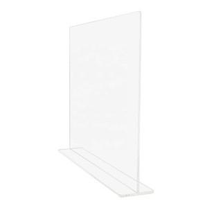 CustomPlexiglass Shield Acrylic Sneeze Guard Perspex Counter Shield Separatore Plexiglass Table Shield Protection