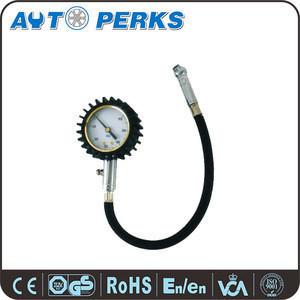 Extended Air Chuck Tire Pressure Gauge