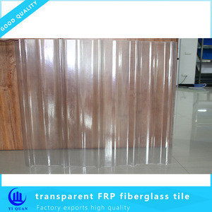 Fiber glass roofing sheet