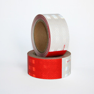 High Conspicuity PET Material DOT Reflective Tape for Traffic Safety