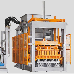 Hot sale QT18-20 fire free brick machine
