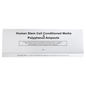 Human Stem Cell facial and hair loss care Ampule