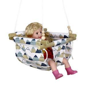 Indoor Outdoor Hanging Baby Swing Children customization Baby swing