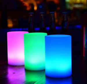 Led nightclub pillar light column light decoration pillar cylinder