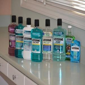 Listerine Bright & Clean Mouthwash 500ml