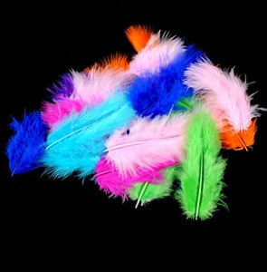 Multi Color Natural Ostrich Feather 7-10cm Feather Trim For Wedding Dress Skirt Decoration DIY Clothes Accessories