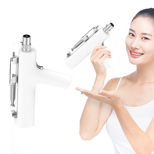 Nano Meso Gun Needling Skin Infusion Machine Micro No Needle Mesotherapy with 3D Silicone Tips