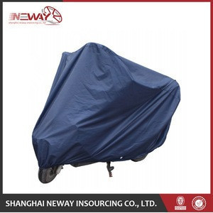 New promotion sun dust sewing motorcycle car cover