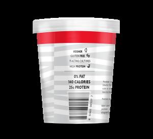 Non-Fat Gluten-Free Powerful High Protein Greek Yogurt - Plain Flavor