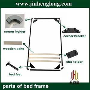 Plastic slat bed parts and bed slat holder parts