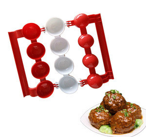 Portable Meatballs Mold Stuffed Homemade Fish Balls Meat Balls Maker Burger Making Mould DIY Kitchen Cooking Tools For Newbie