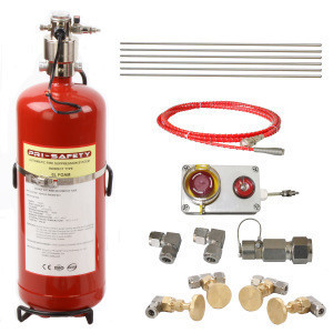 PRI-SAFETY UNECE 107 Certified Bus And Coach AFFF Foam Fire Suppression Systems
