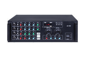 Professional digital audio power professional karaoke mixer amplifier for speaker