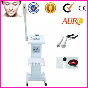 Professional ultrasonic ozone steamer high frequency facial spa 4 in 1 machine with CE AU-909A